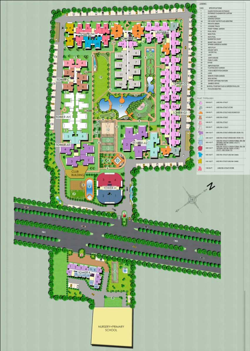 Palm Resort Raj Nagar Extension New Project - 9650600508